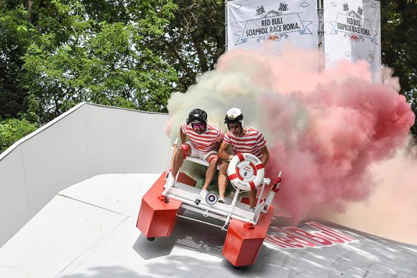 Participant(s) the Soap Box Race in Rome, Italy on june 24, 2018